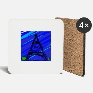 child hands arts - Paris - Eiffel Tower - Coasters