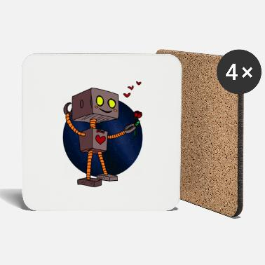 Robot Robot Machine Space Travel All Fantasy Kids - Coasters