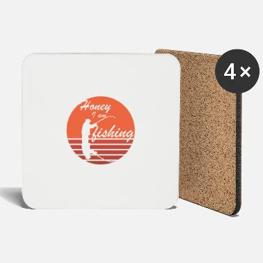 honey iam fishing - Coasters