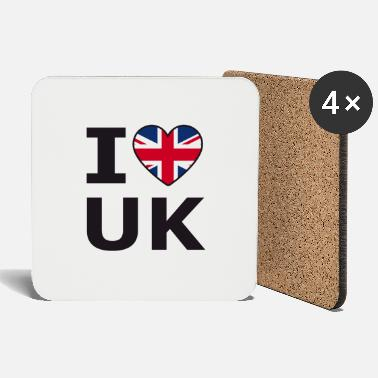 Kingdom United Kingdom I love UK United Kingdom - Coasters