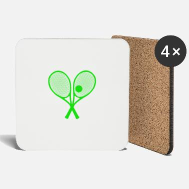 Tennis Tennis Tennis Player Tennis Racket - Coasters