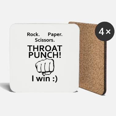 Throat Throat Punch - Coasters