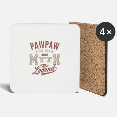 Paw Paw Paw The Man - Coasters
