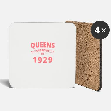 1929 Queens Shirt - Queens are born in 1929 - Coasters