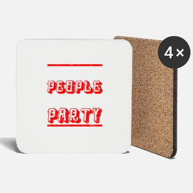 Party We like to party - party shirt - Coasters