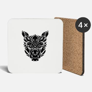 Boar BoarFace - Coasters