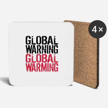 Global Global Warning - Global Warming - Onderzetters
