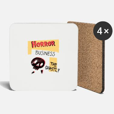 Ghastly Horror Business Halloween - Coasters