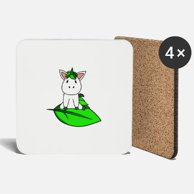 Bio Organic eco unicorn - Coasters