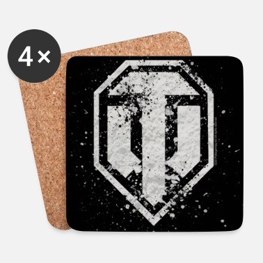 Officialbrands World of Tanks - Logo Vintage Cover - Coasters (set of 4)