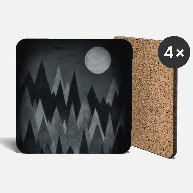 Sort &amp Scary Forest Art (Abstract triangles) Phone Case - Bordskånere