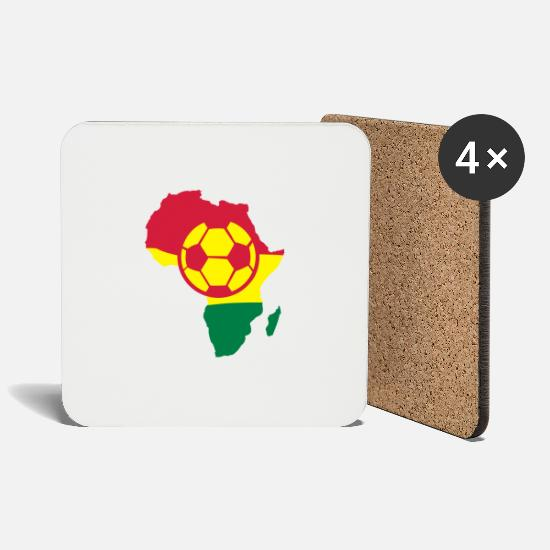 Ball Mugs & Drinkware - africa - Coasters white