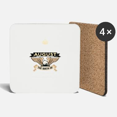Born In August BORN IN AUGUST - Coasters