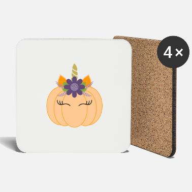 Costume Unicorn Pumpkin Crazy 2020 - Coasters