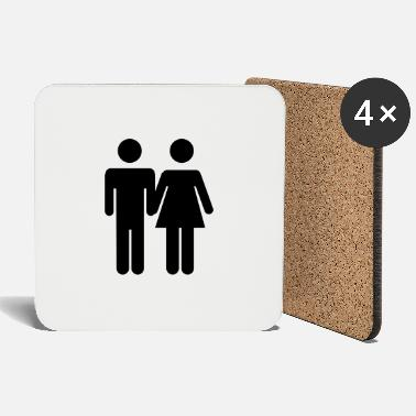 Wedding Couple love wedding couple - Coasters