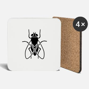 Fly Insect - fly - Coasters