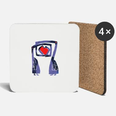 Lovely Love birds - Coasters
