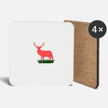 Arrowhead RED DEER HUNTING HUNTING HUNTER FÖRSTER GIFT - Coasters