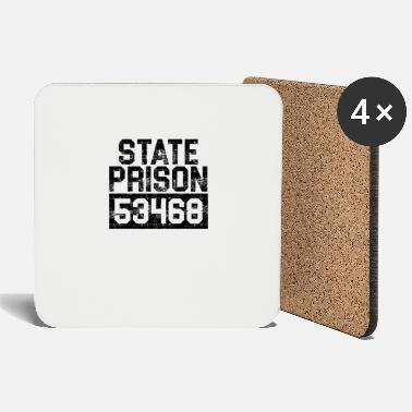 Prison Prisoner of the State Prison Funny G - Coasters
