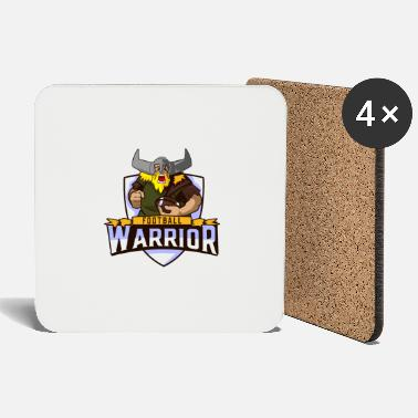 Warrior-rune Football Warrior Wikinger - Untersetzer