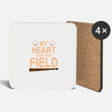Pęd My Heart Is On That Field Baseball - Podstawki