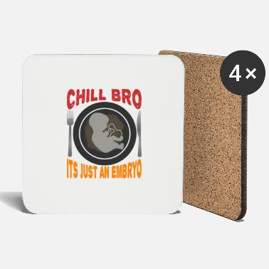 Provocation Black humor provocative - Coasters