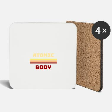 Atom Atomic atom body - Coasters