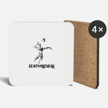 Beach Volleyball Beach volleyball - beach volleyball - volleyball - Coasters