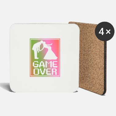 Over Wedding - game over. The game is over. - Coasters
