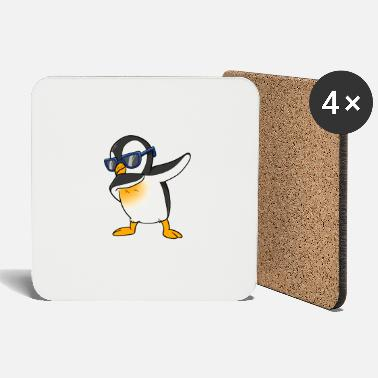 Step Dance Cool penguin dab south pole dance float dance step - Coasters