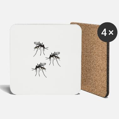 Pest Mosquito mosquito mosquitoes insects bloodsucker pest - Coasters