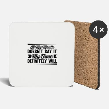 Provocative Funny saying provocative provocation gift - Coasters