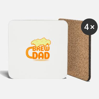 Uncle Beer Father Brew Alcohol Funny Drinking Gift - Coasters