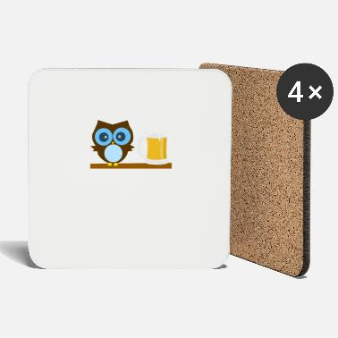 Gufo Owl Lover - Owl I Need Is Beer - Sottobicchieri