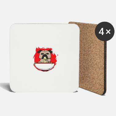 Pho soup Vietnam noodle soup dog I gift idea - Coasters