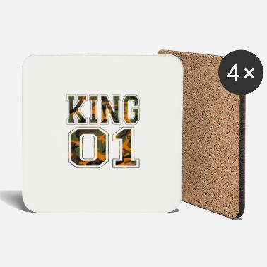 King 01 camouflage king - Coasters