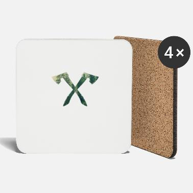 Ax forest logo - Coasters