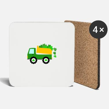 Pat St Pat Truck Gift St. Patricks Day Baby - Coasters