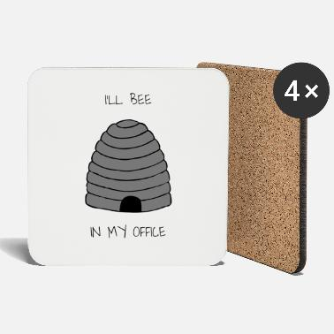 Bursdag I'LL BEE IN MY OFFICE - Coasters