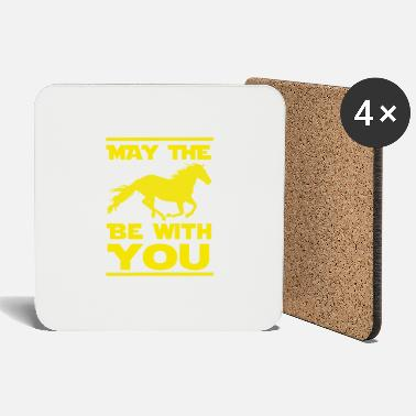May The Horse May the horse be with you - Untersetzer