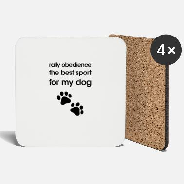 Rally Obedience Rally Obedience the best sport for my dog - Coasters