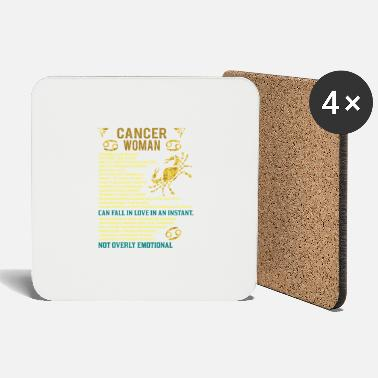 House Ruled Eleventh Cancer Woman - Coasters