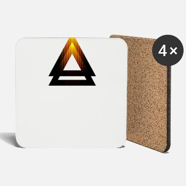 Abstract Abstract Triangle - Coasters