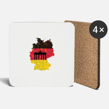 Federal Republic Of Germany The Federal Republic of Germany + Brandenburg Gate - Coasters