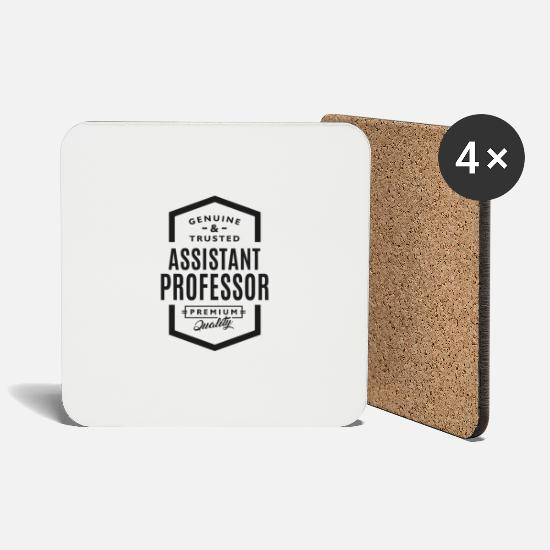 Professor Mugs & Drinkware - Assistant Professor - Coasters white
