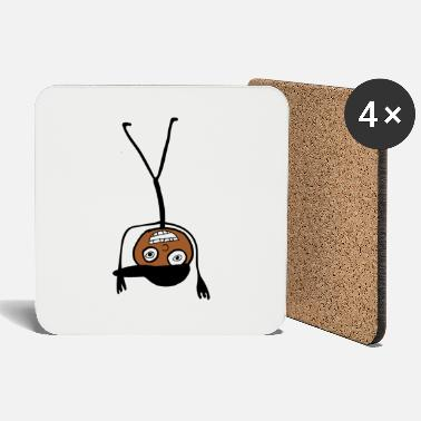 Kid In A Cap Handstand - Coasters