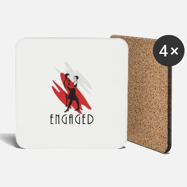 Engagement Engaged - Coasters