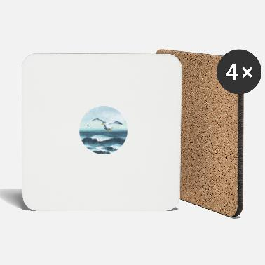 Nature Collection V2 seagulls - Coasters