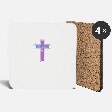 Bible Blessed Jesus Christ Bible gift - Coasters