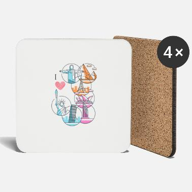 love travel - Coasters